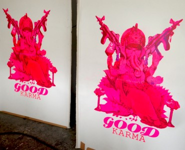 GANESHA GOOD KARMA CANVAS