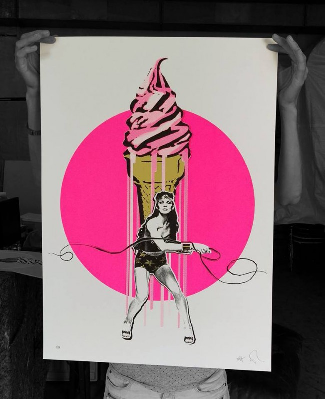 Collabo Print für Munich Pop Art 2016