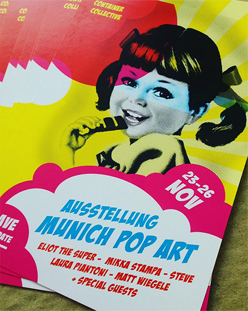 Ausstellung Munich Pop Art 2017