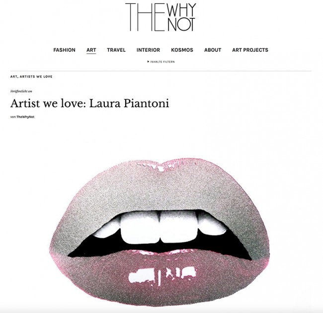 Artist we love: Laura Piantoni