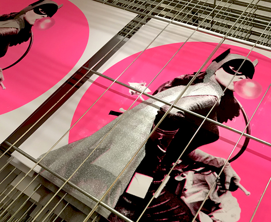 BUBBLE TROUBLE pink